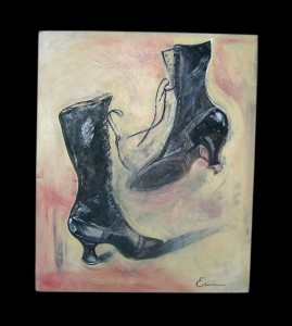 Boots From My Past by Heather Erwin 2010