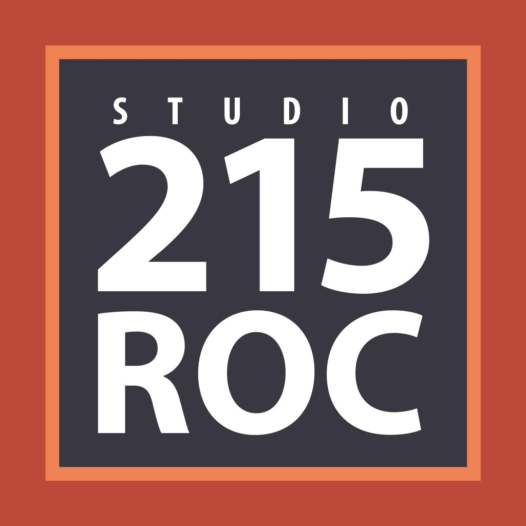 New logo for Studio 215 ROC